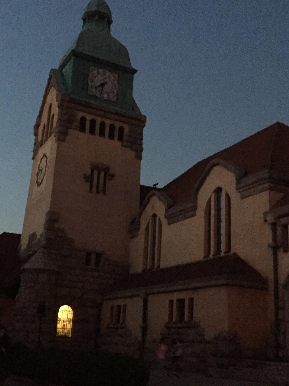 Protestant church.