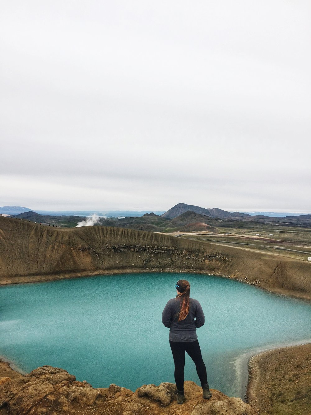 Don't let any worries take your headspace out of epic views. Like this one in Iceland. My Lena cup really helps me feel more in control.
