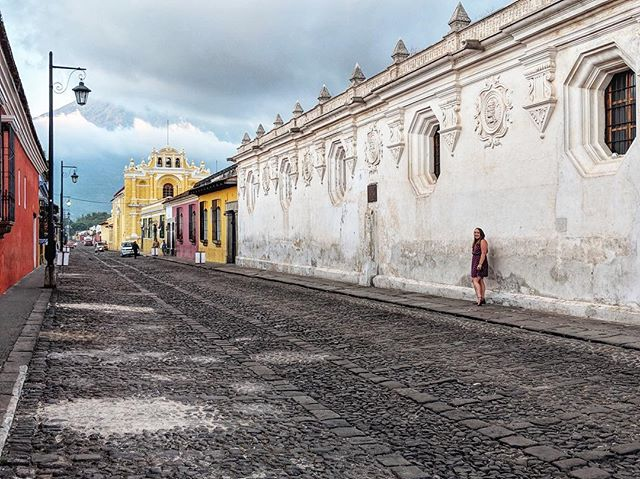 Antigua, you could have so easily been overwhelmed and lessened by the Semana Santa crowds. But you weren't, and I'm so thankful to have been in this particular city this particular week. It may be my new favorite city in the world. Definitely top 5. Thanks for being so good to this little wanderer.   📸: @urbestfriendrio  ______________________________ #antigua #guatemala #holyweek #semanasanta #wander #wanderwoman #wanderwomen #sheisnotlost #travel #volcano #cobblestonestreets #theconstantlycurious #ichosetowander