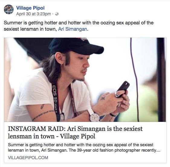 http://villagepipol.com/instagram-raid-ari-simangan-sexiest-lensman-town/