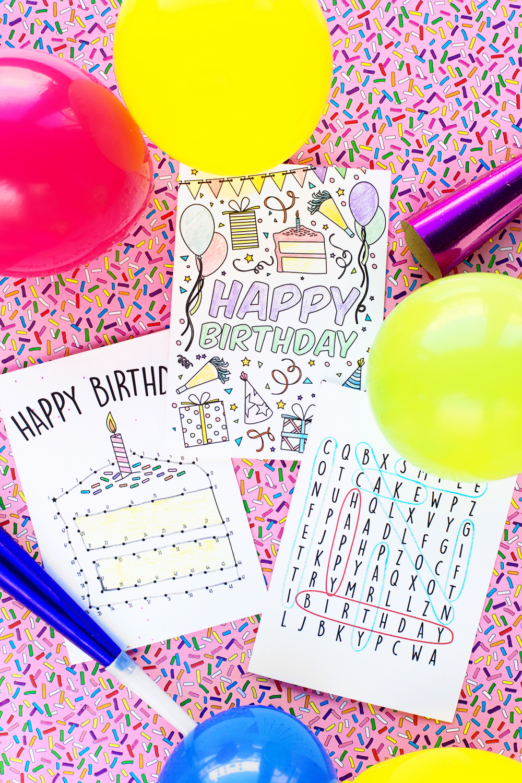 Threadhoney X Studio DIY Free Interactive Birthday Cards Thread Honey