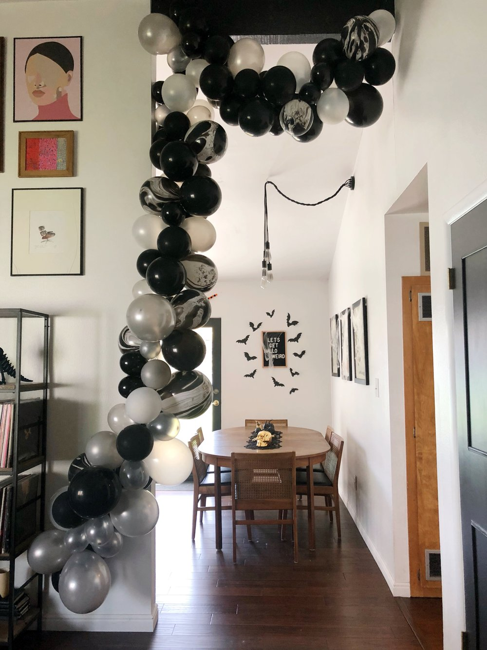 The one that started it all, a big thank you to this spook-tacular balloon arch for making me completely obsessed!