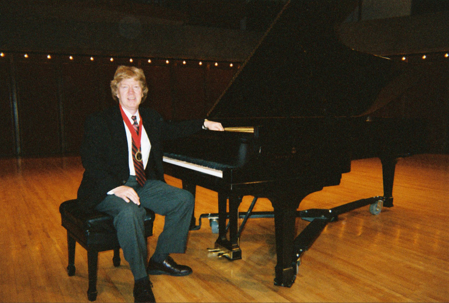First Place in Robert M. Spire Piano Competition, held at the University of Nebraska - Omaha, November, 2004.
