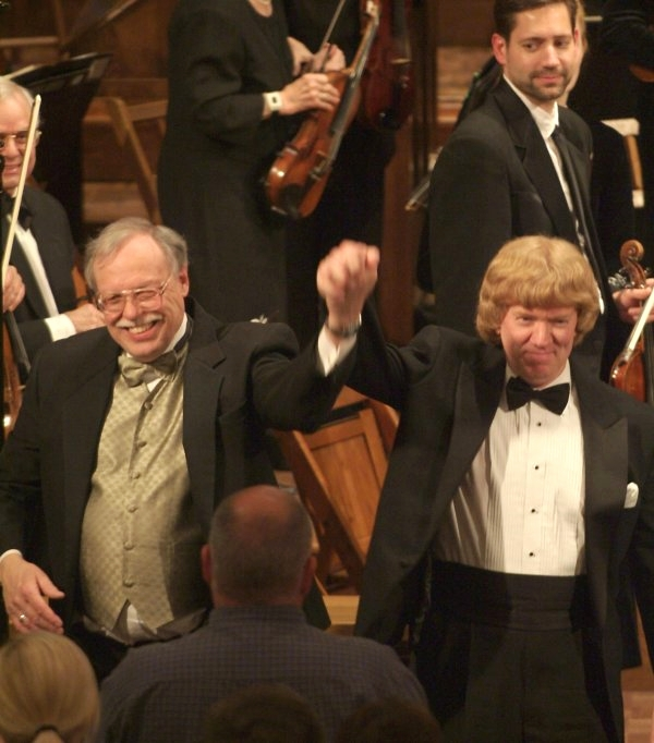 Brahms Concerto No. 1 with the Belleville Philharmonic; February 2005