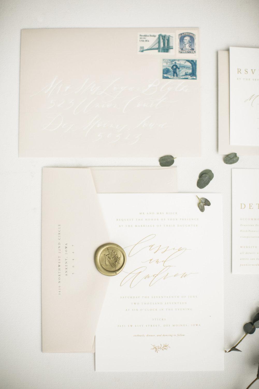 Adore Semi-Custom Wedding Invitations