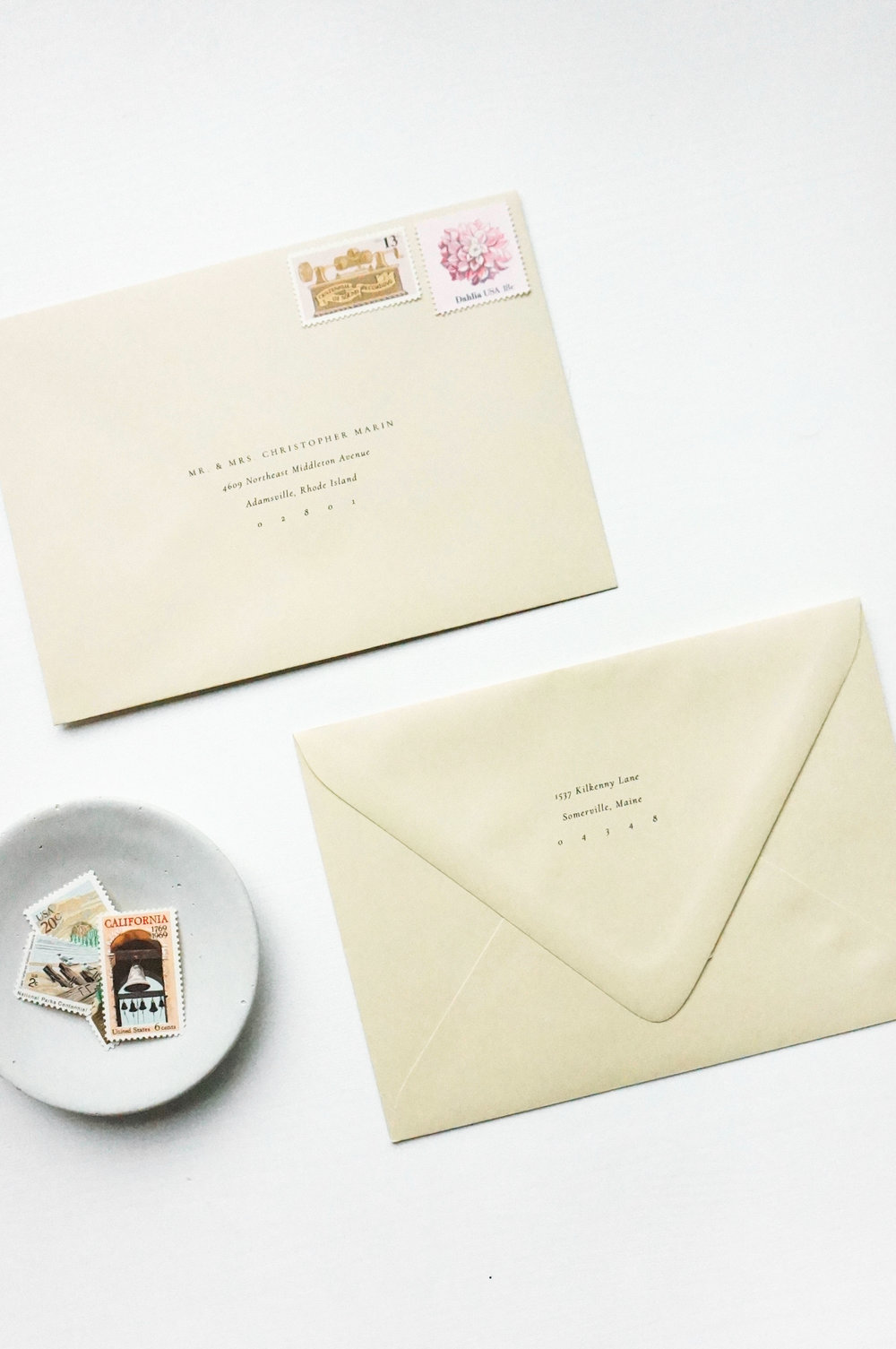 Gatherie Creative Semi-Custom Invitations - Envelopes