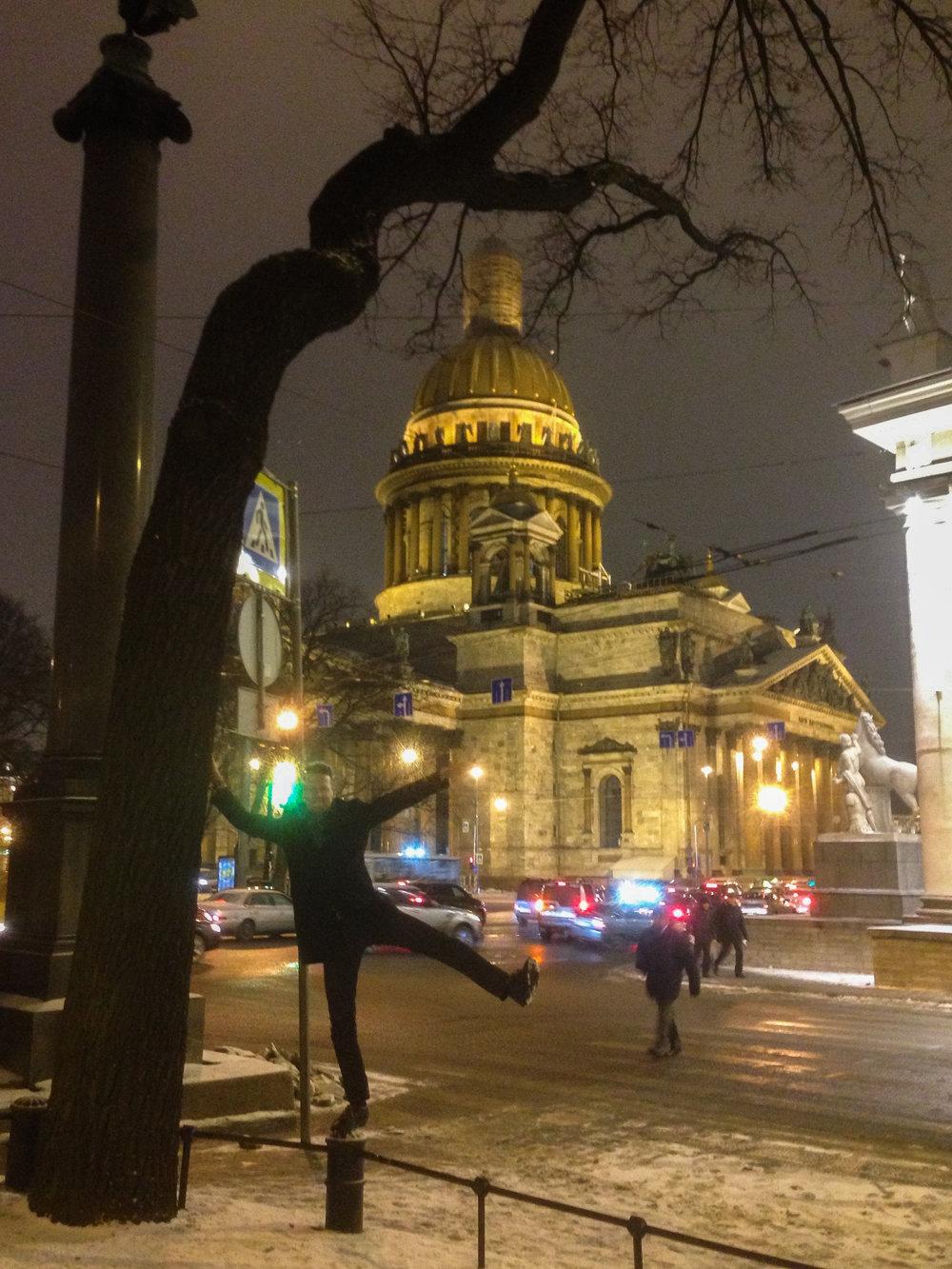 Savitaipale LIIKUttaa Pietarissa asti