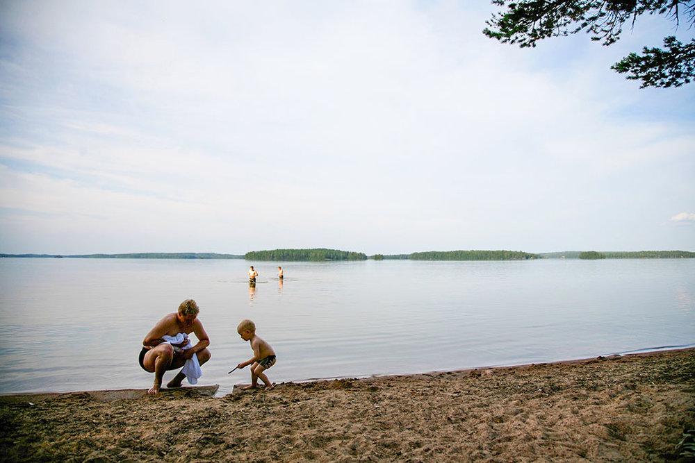Lepänkanto beach