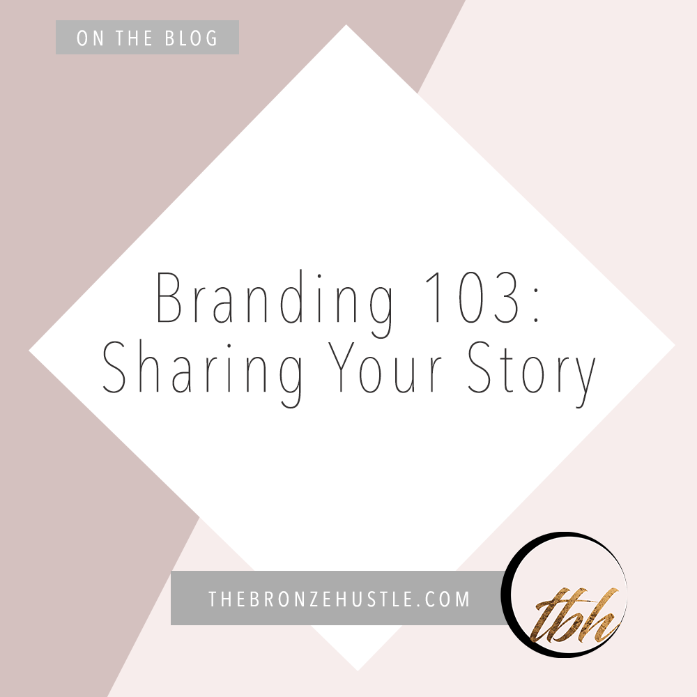 branding and sharing your story