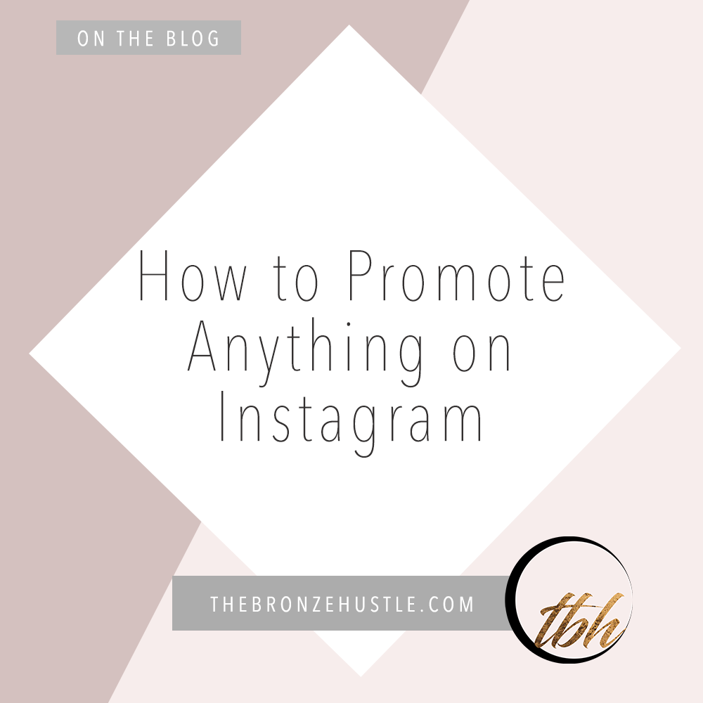 how to promote anything on instagram