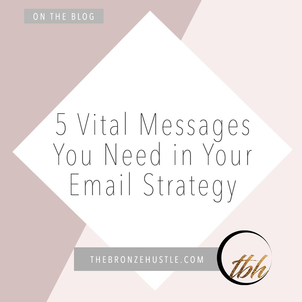 5 vital messages you need in your email strategy