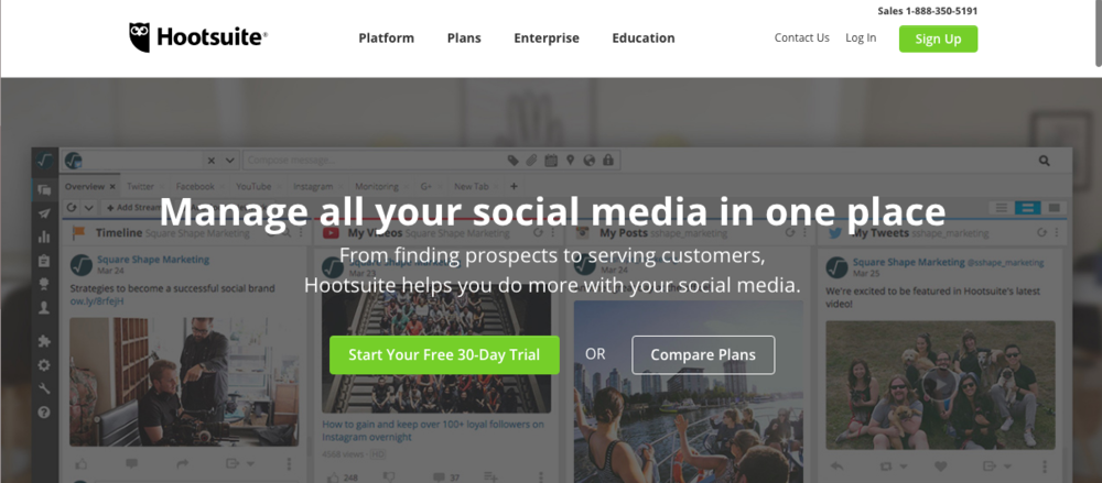 hootsuite for social media marketing