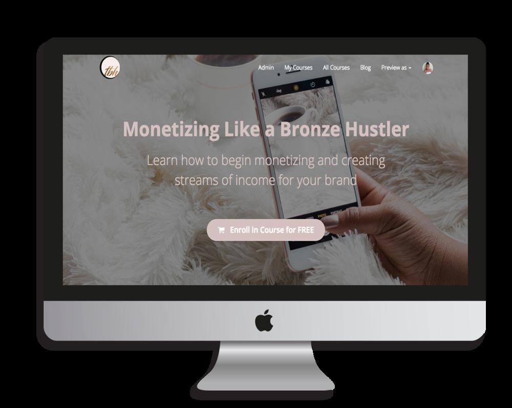 free blog monetization course
