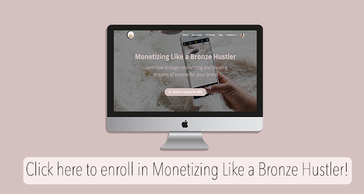 blog monetization course