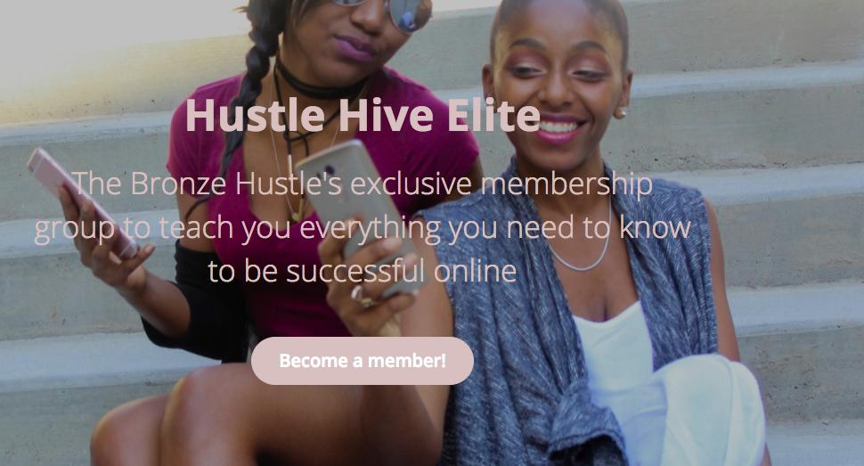 hustle hive elite by the bronze hustle