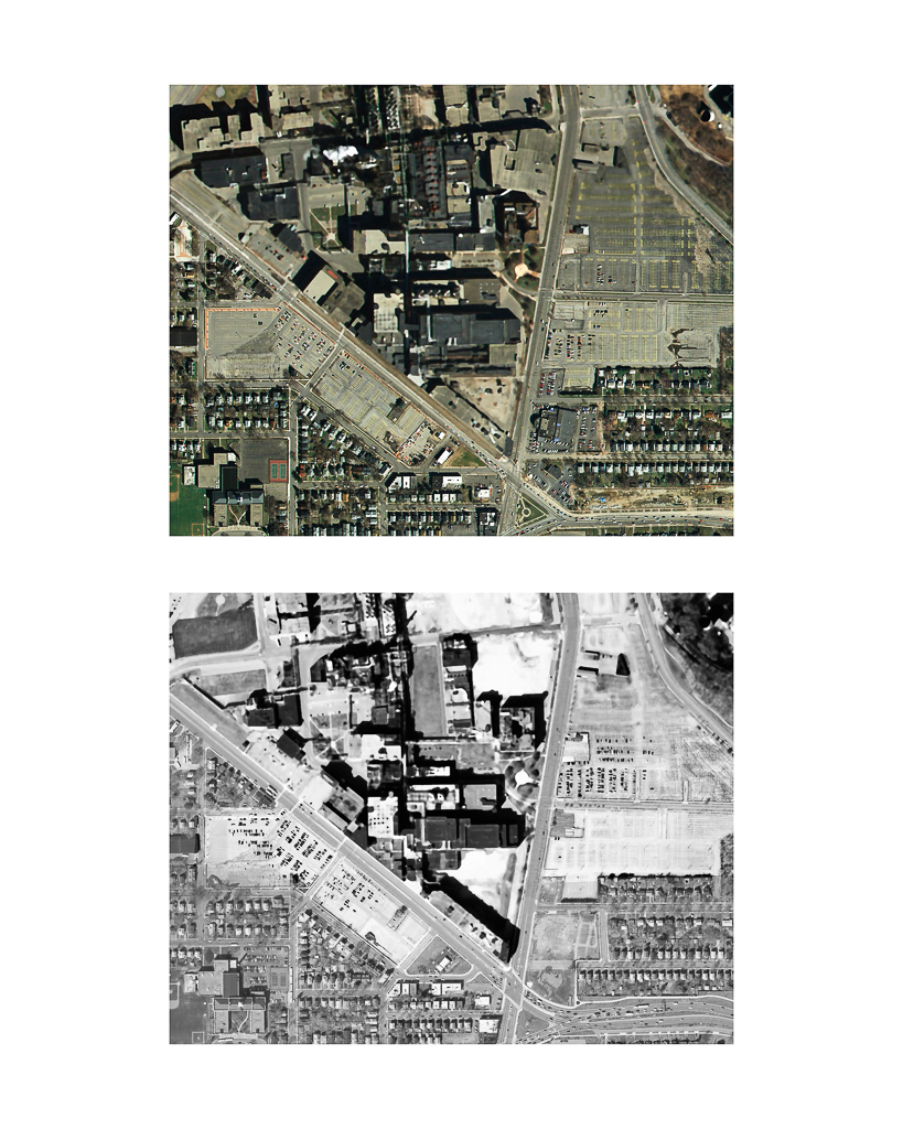 One Pixel = One Square Foot: Kodak Park Section 2E in 2005 (color) Aerial Views Courtesy of New York State Orthos Online