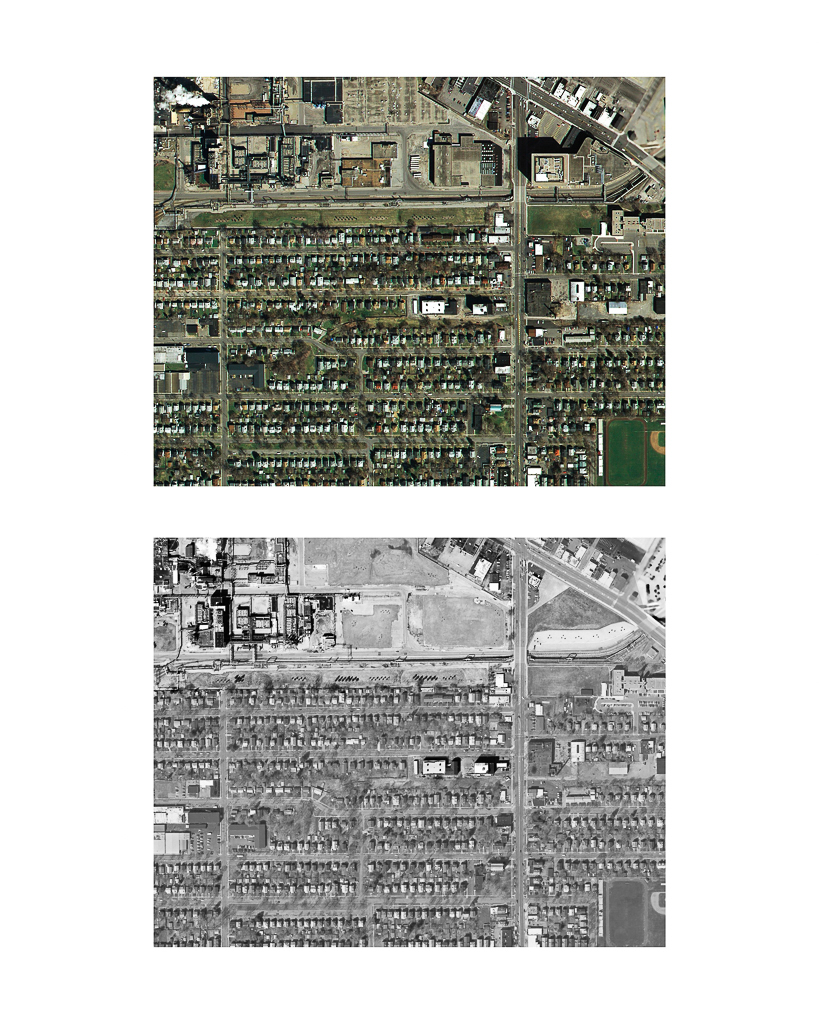 One Pixel = One Square Foot: Kodak Park Section 2D in 2005 (color) Aerial Views Courtesy of New York State Orthos Online
