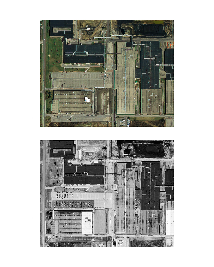 One Pixel = One Square Foot: Kodak Park Section 4A in 2005 (color) Aerial Views Courtesy of New York State Orthos Online