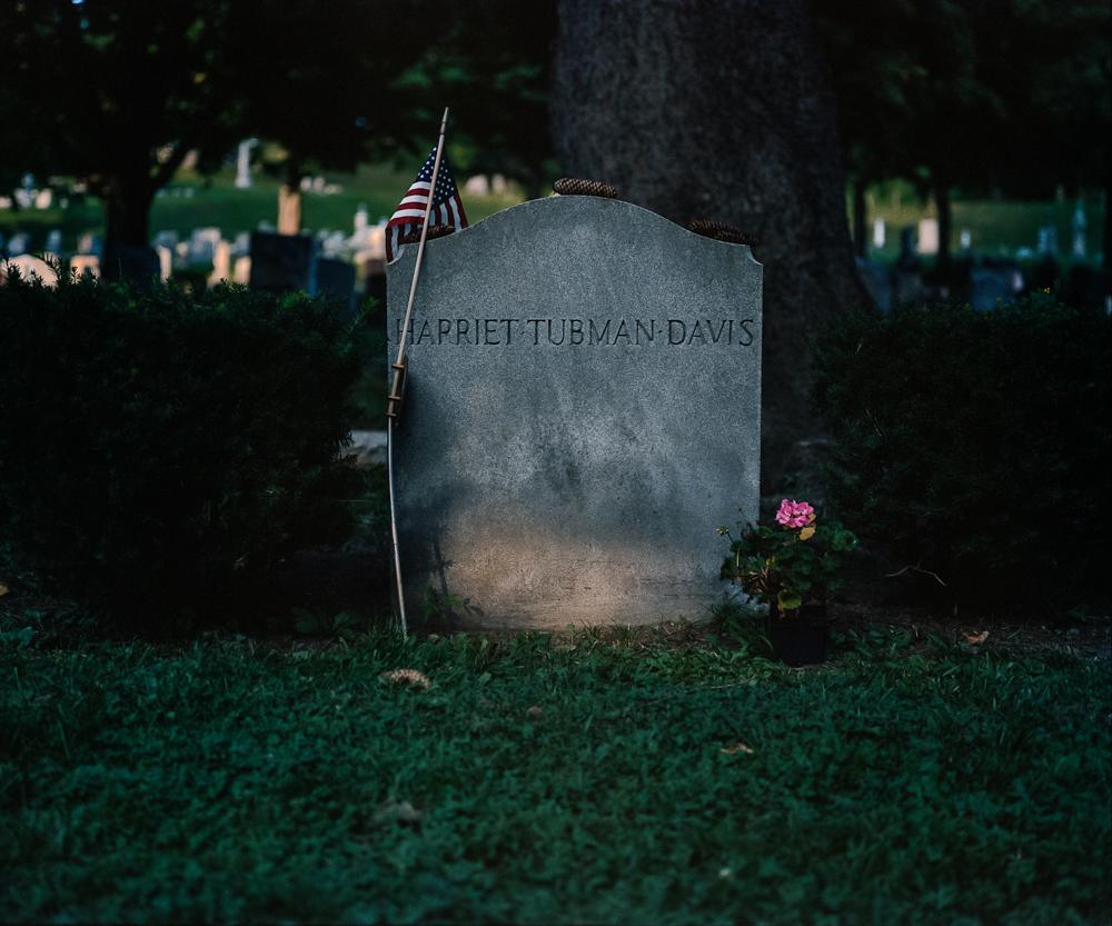 Tubman Gravestone, Auburn, NY, 2008