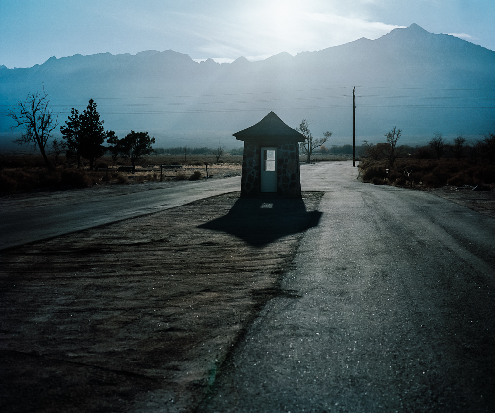Entrance, Manzanar, CA, 2008