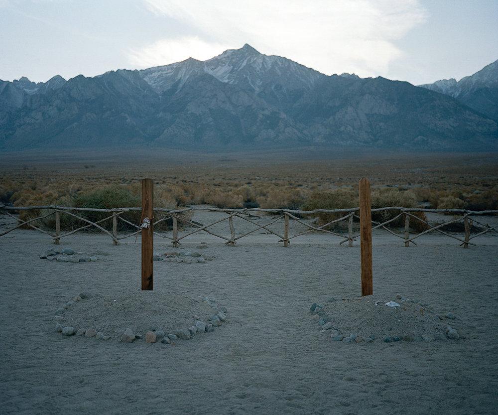 Cemetery, Manzanar, CA, 2008
