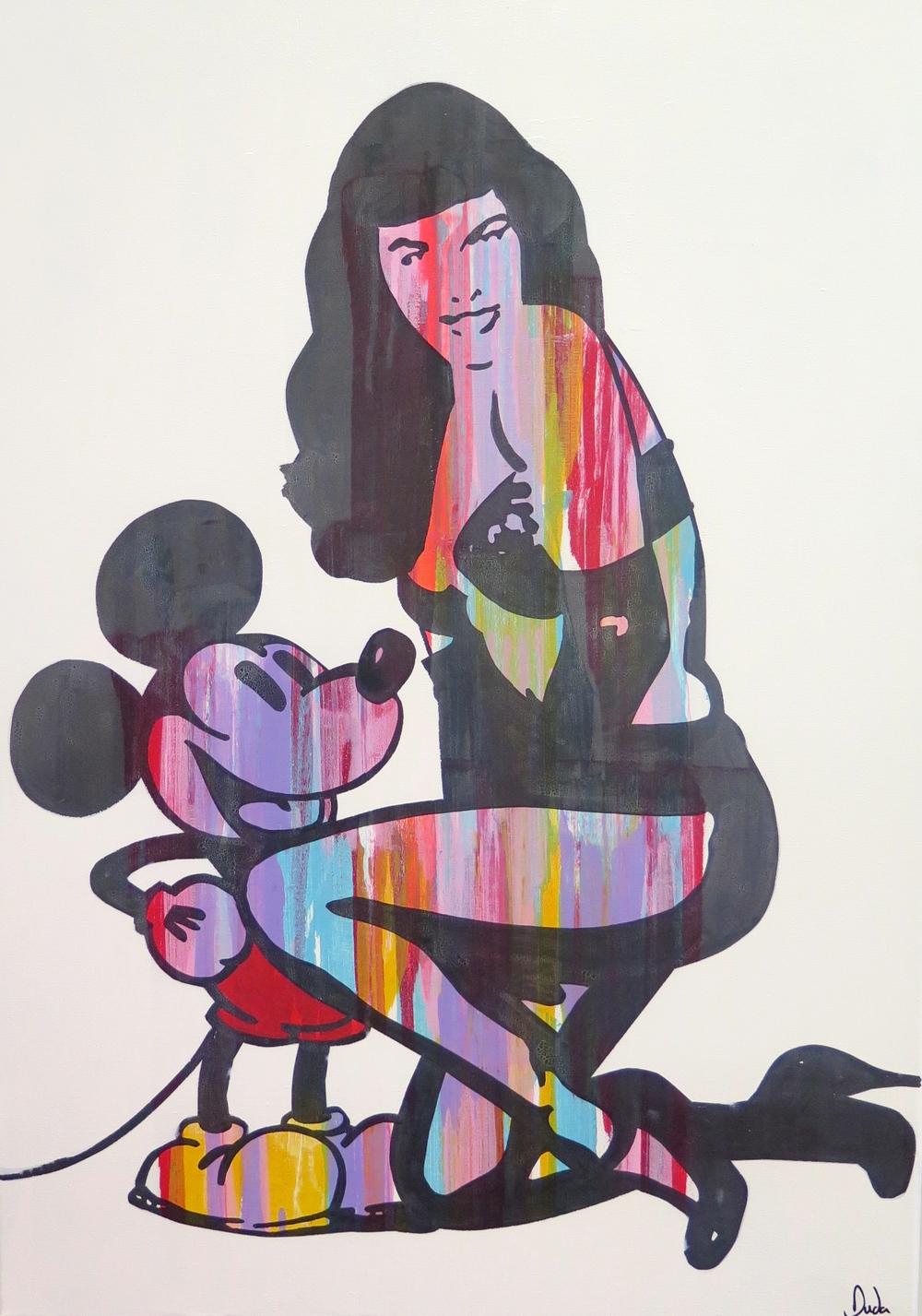 Mickey meets Betty II by Duda €1250.jpg