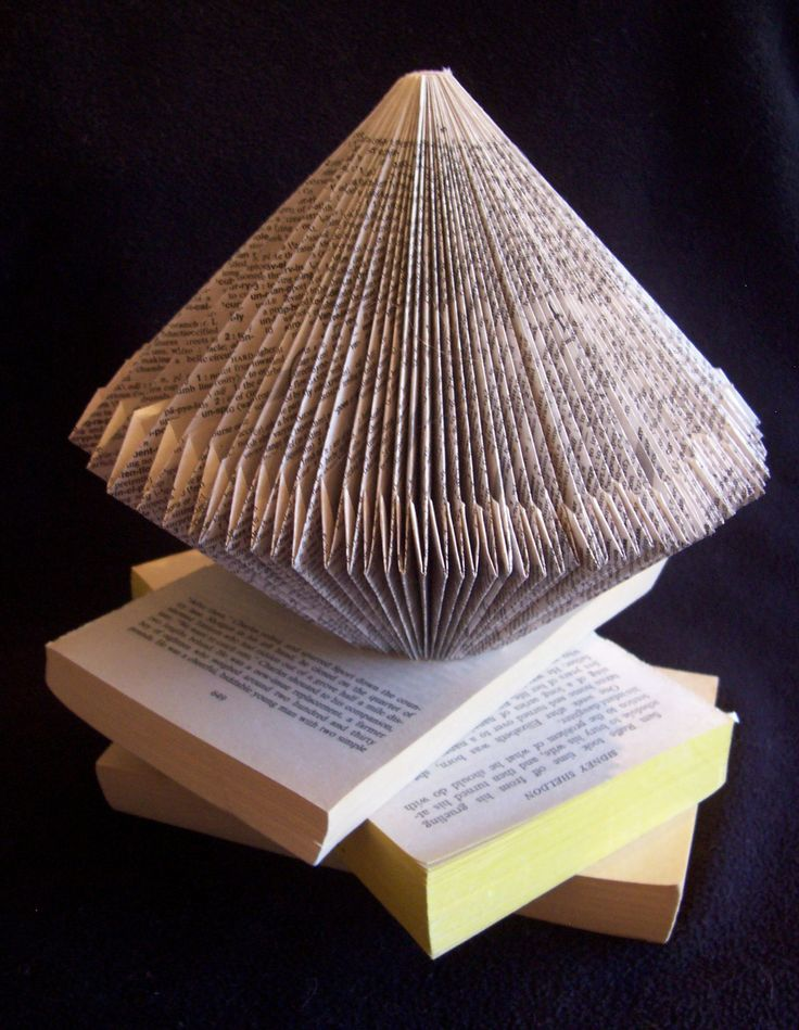 Recycle old books for new creations!