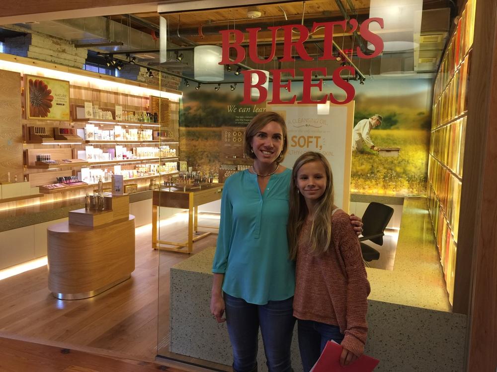Fran at Burt's Bees!