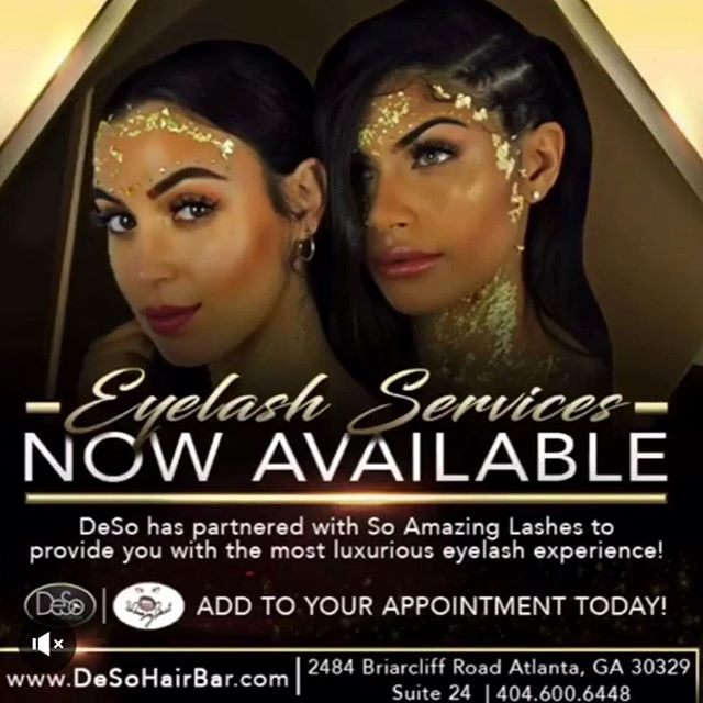 @soamazingbeauti has a few more appointments open for this week, book now before their filled! ❣#lashesatl #deso #lashesextension #lashlove