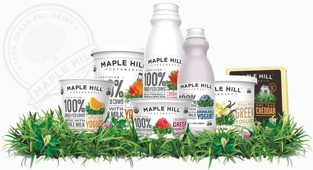 Maple Hill Creamery 100% Grass-Fed Organic Dairy. Committed to making the highest-quality 100% grass-fed, whole milk dairy products from the beginning.