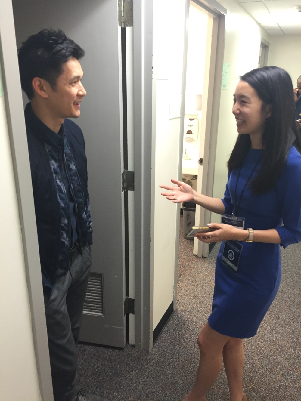 Talking to Harry Shum Jr.