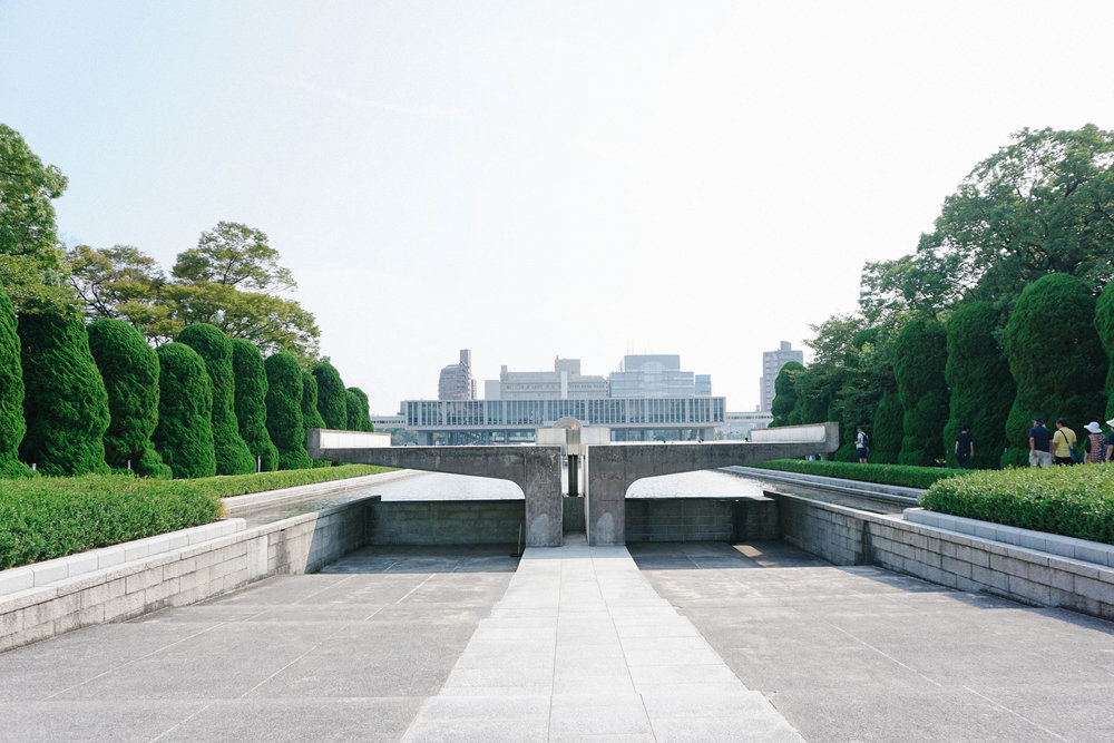 Flame of Peace, Hiroshima Peace Memorial Park.