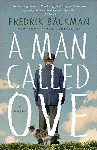A Man Called Ove,  by Fredrik Backman, pub. Washington Square Press, 337 pages .    Photo courtesy of Amazon.