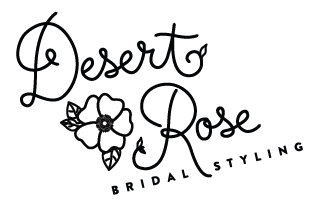 Desert Rose Bridal Styling