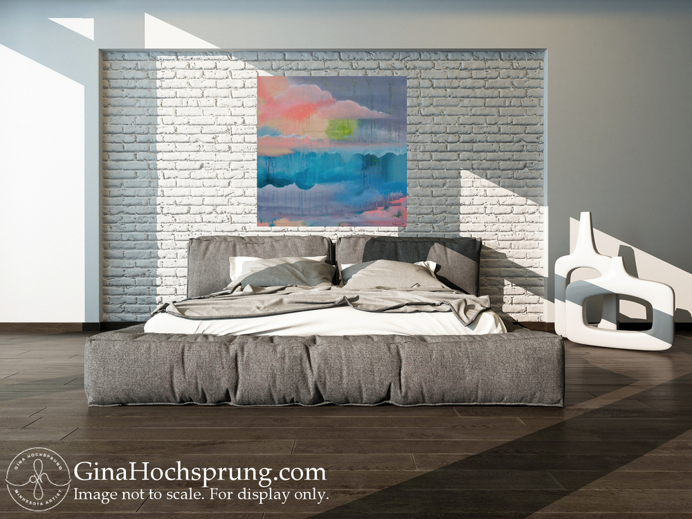 Reciprocated Scapes, 2016 by Gina Hochsprung - grey bedroom.jpg