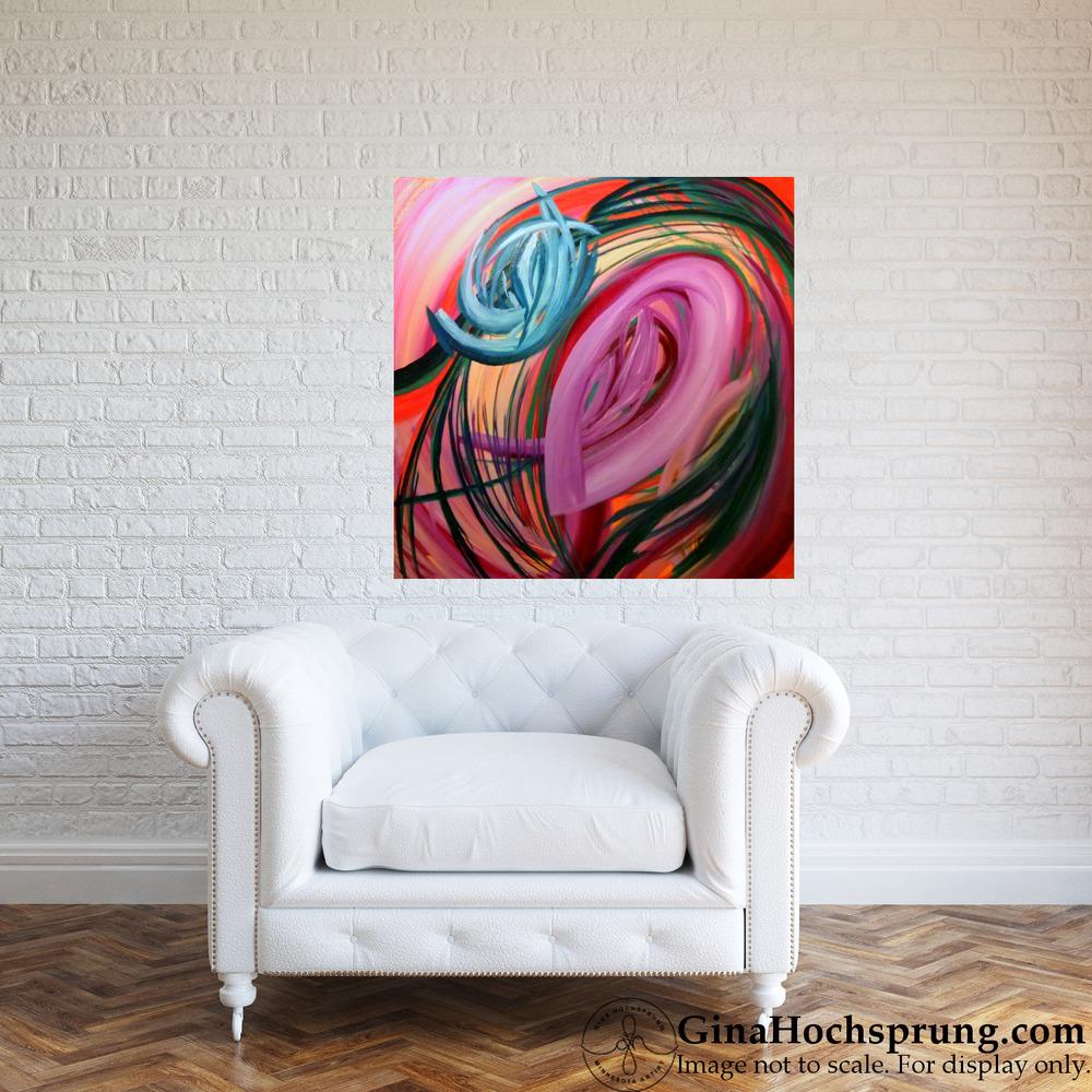 Inner Whispers, 2015 by Gina Hochsprung - room.jpg