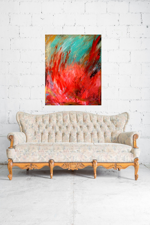 world on fire vintage sofa white brick wall.jpg