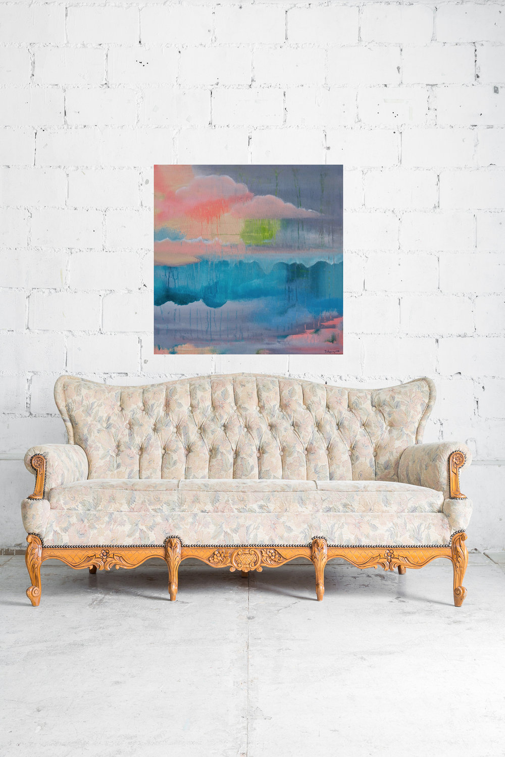 Reciprocated Scapes vintage white sofa.jpg