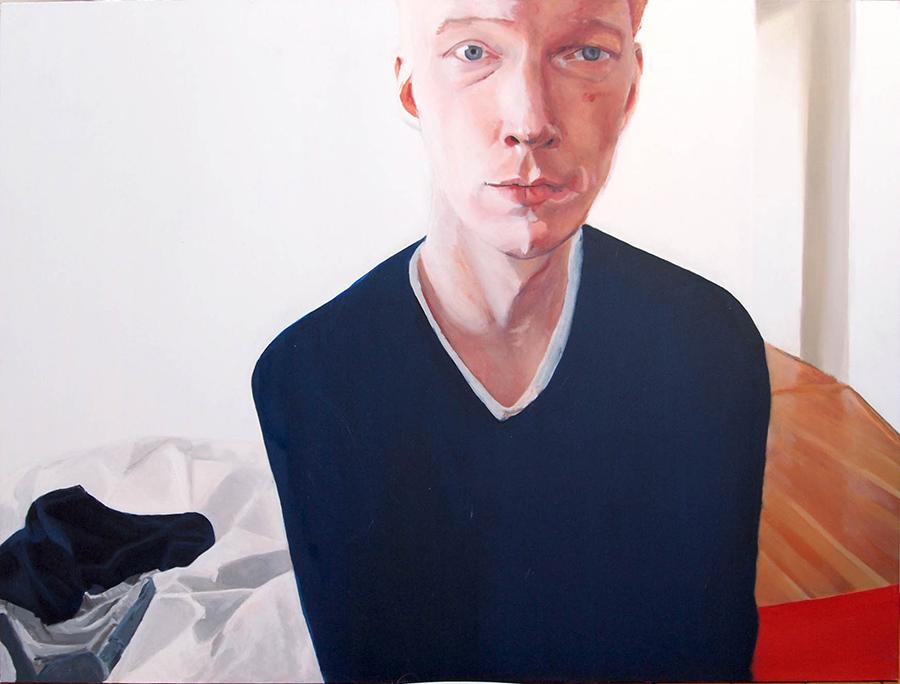 Rachel Dwan | Florian | Oil on Panel