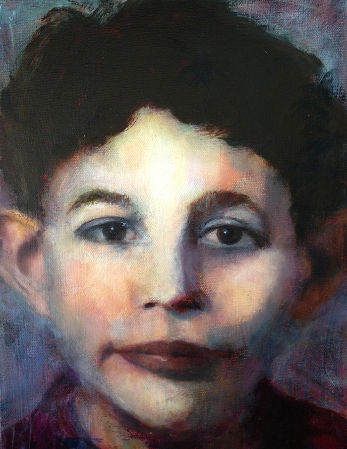 bonnie_Henkels Luntz | Alan as a Young Boy | Oil on Canvas
