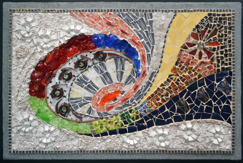 HONORABLE MENTION - Curves (2012) | Xuan My Ho | Mosaic | 20.5x33"