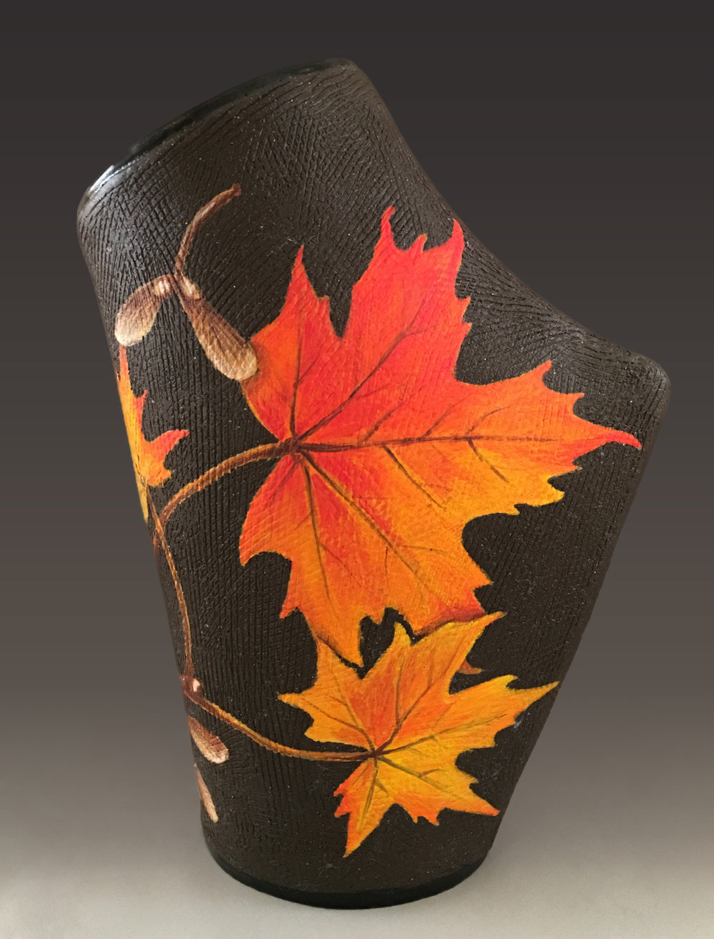 HONORABLE MENTION  - Marina Smelik | Flaming Maples | Ceramics