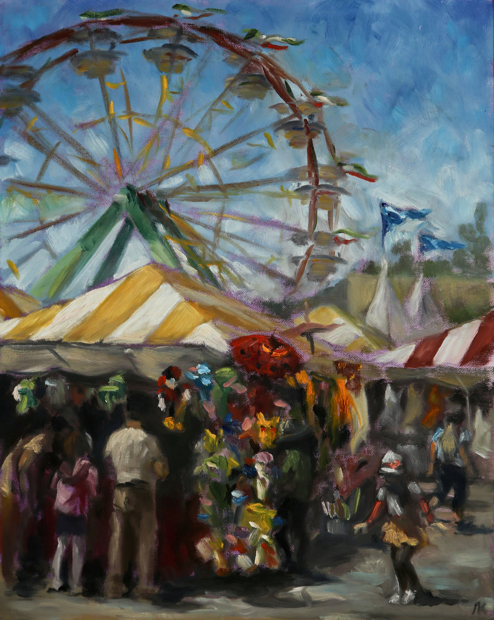 "THIRD PLACE  - Mila Kirillova | ""County Fair 1"" 