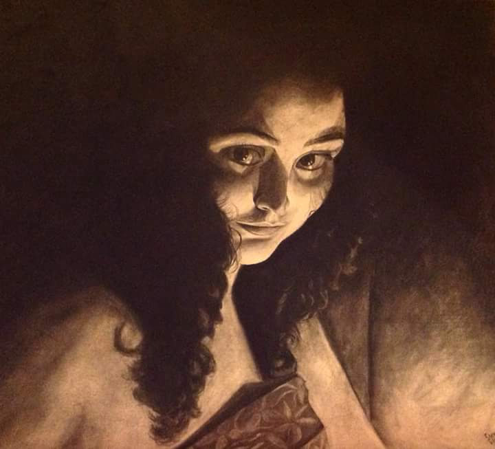 "HONORABLE MENTION  - Suvagata Chatterjee | ""Self PortraitL Interpretation"" 