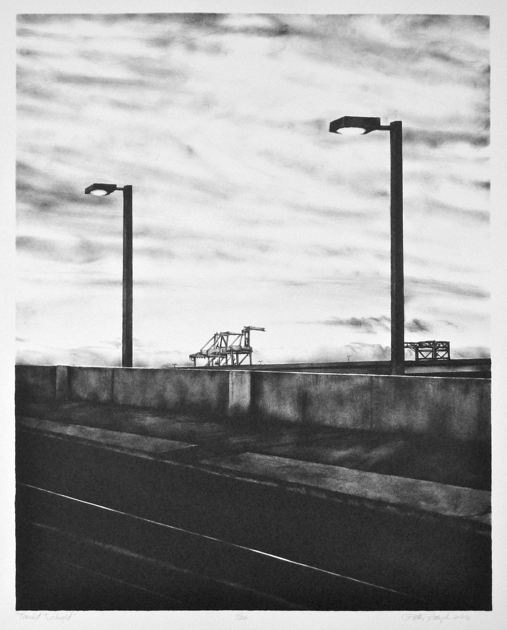 "HONORABLE MENTION  - Peter Baczek | ""Transit Twilight"" 
