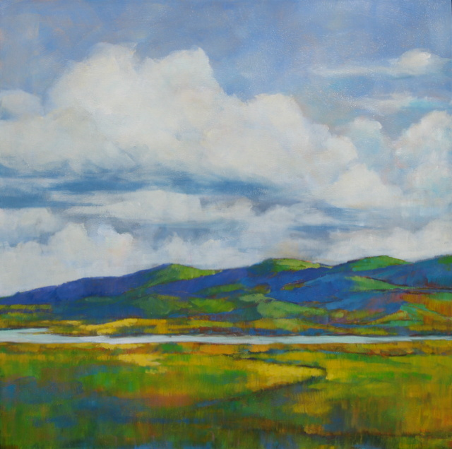 "SECOND PLACE - Kathleen Wolf | ""Alviso Wetlands"" 