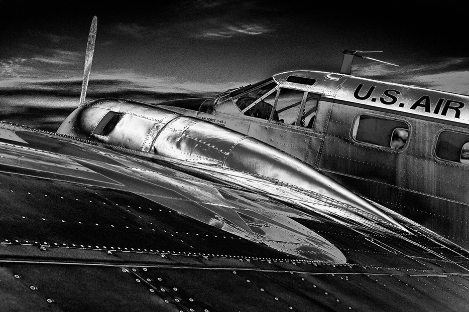 HONORABLE MENTION  - Thomas Green | Night Fighter Digital Solar Sacramento CA | 20x16
