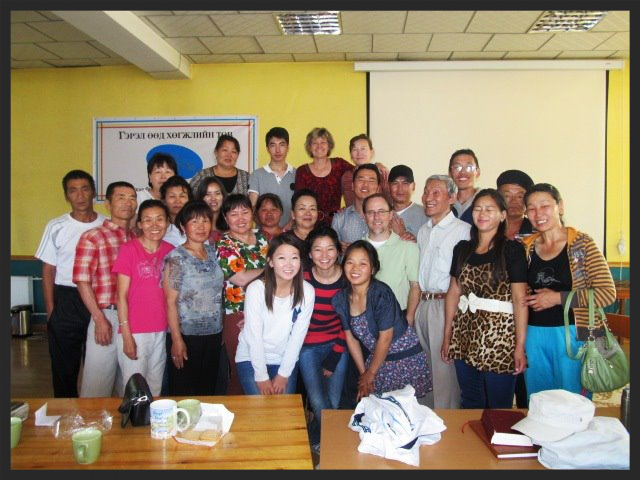 Pastors and church leaders from the churches in Mongolia (2012)