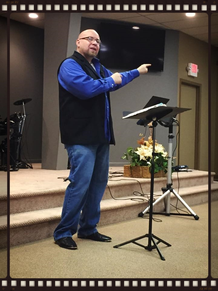 John Frost sharing at River Oaks in December