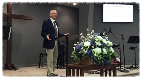 Dr. Roger Ford sharing at River Oaks Church. Click the image to listen online.